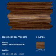 bambu machiembrado
