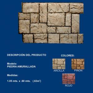 piedra amurallada